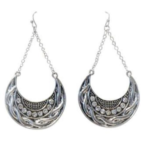 Alisha d. Half Moon Drop Earrings - Lorraine's for Women