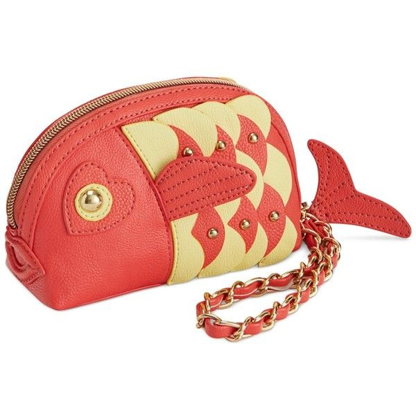 Betsey Johnson Kitchi Fish Wristlet