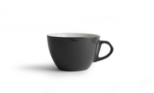 Curve Cappuccino Cup & Saucer - Gray
