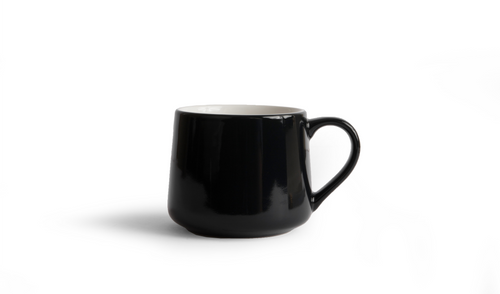 Crescent Mug - Black 12 Ounce