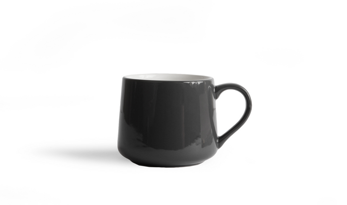 Crescent Mug - Gray 12 Ounce