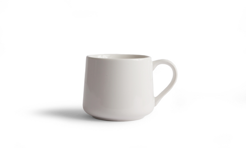 Crescent Mug - White 12 Ounce