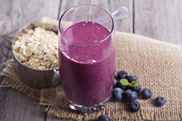 Blueberry Coconut Weight Loss Smoothie