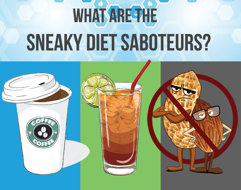 What are the sneaky diet saboteurs?