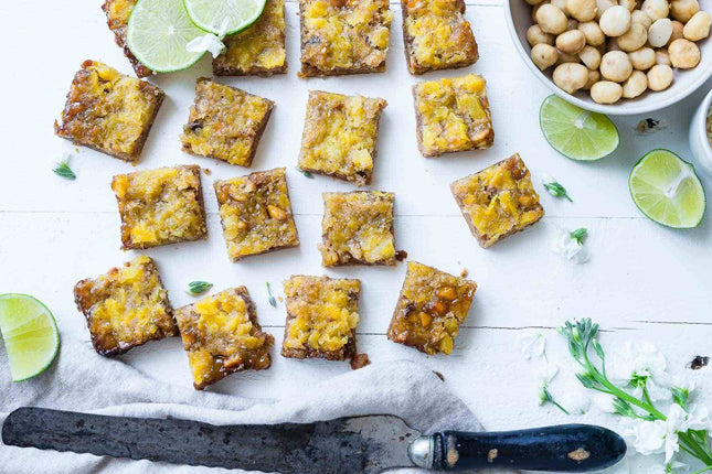 tropical chia bars