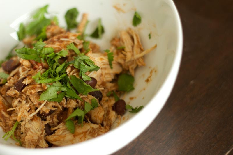Tex Mex Crock Pot Chicken