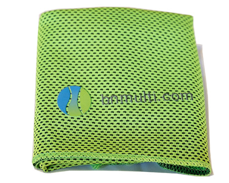 BN Fit Kit BN Workout Towel Green
