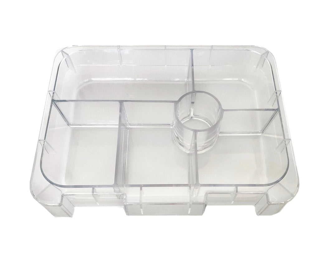 Portion Lunch Box - Replacement Tray - 4 or 6 Compartments