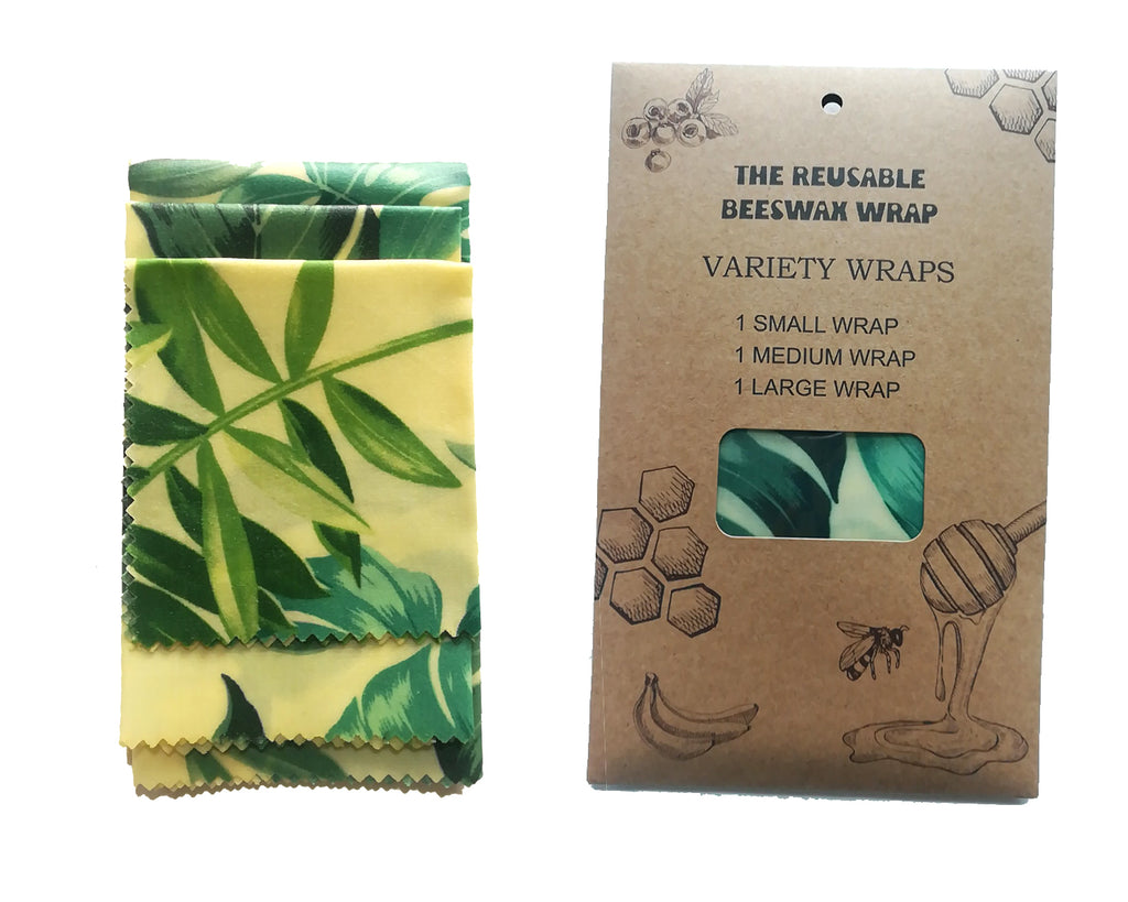 Reusable Beeswax Food Wraps Packet