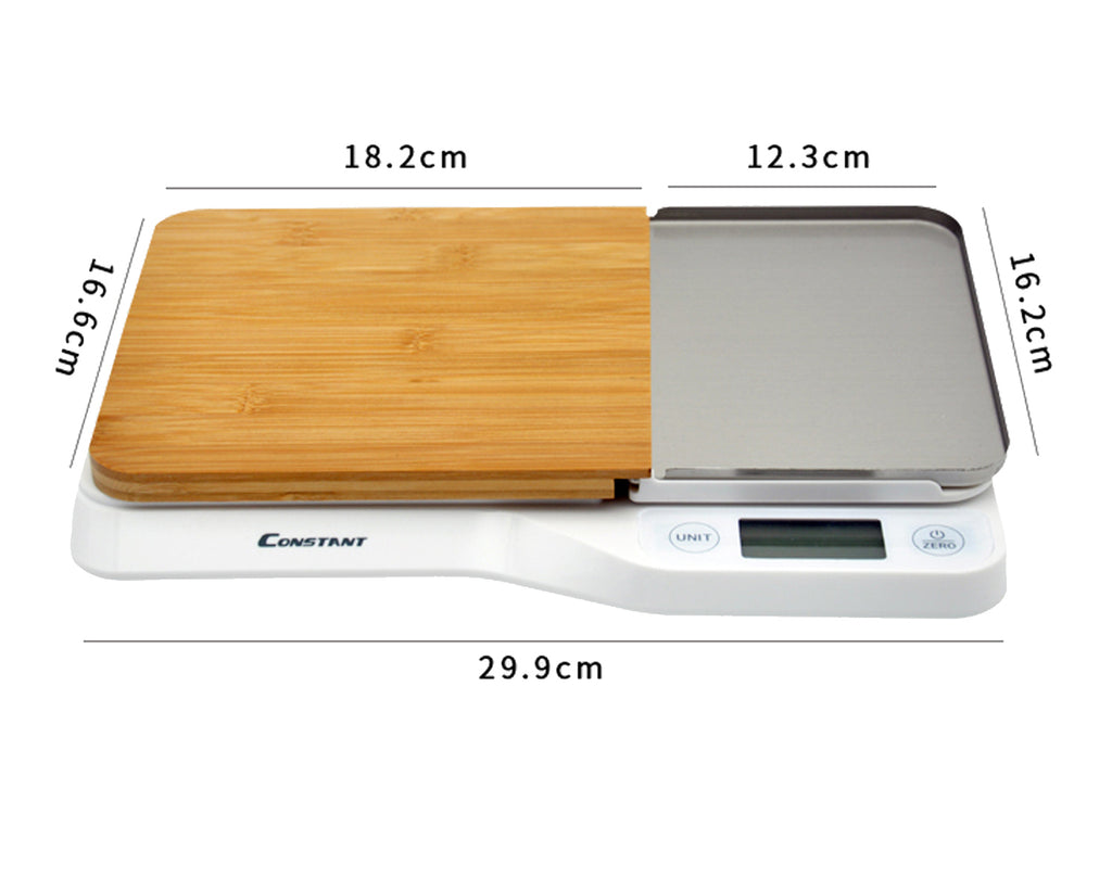 3 in 1 Digital Scales and Cutting Board