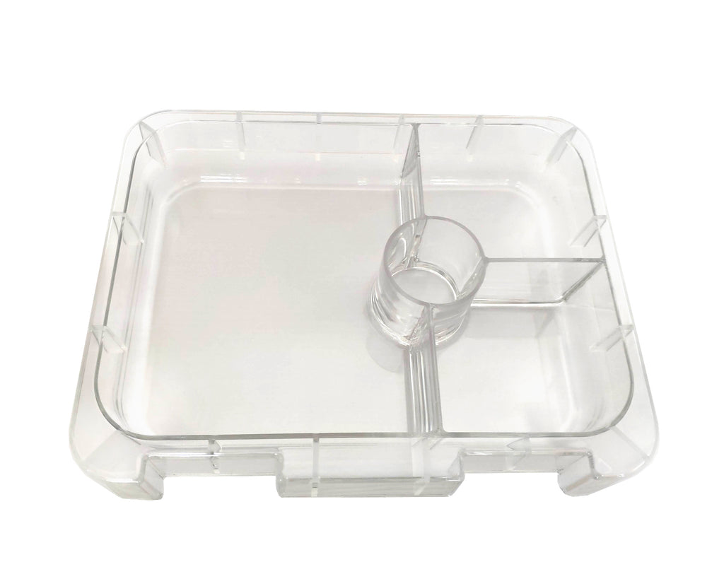 Clear Replacement Inner Tray - 4 & 6 Compartments