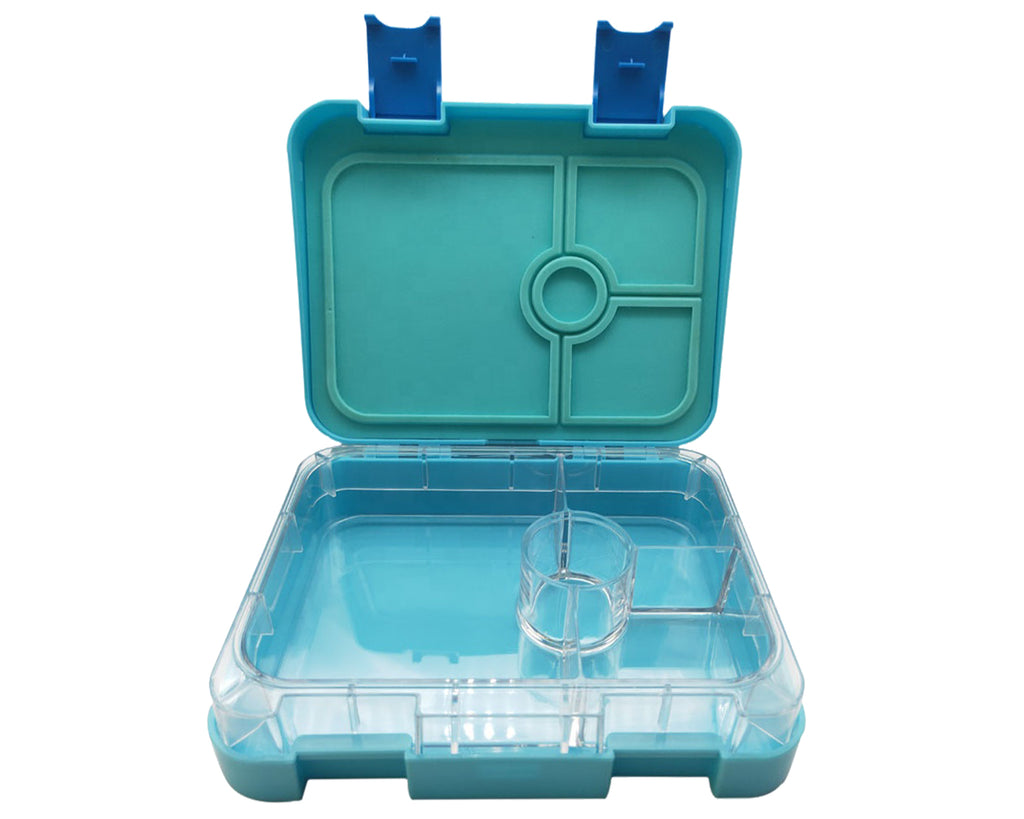 PORTION LUNCH BOX 4 COMPARTMENT BLUE