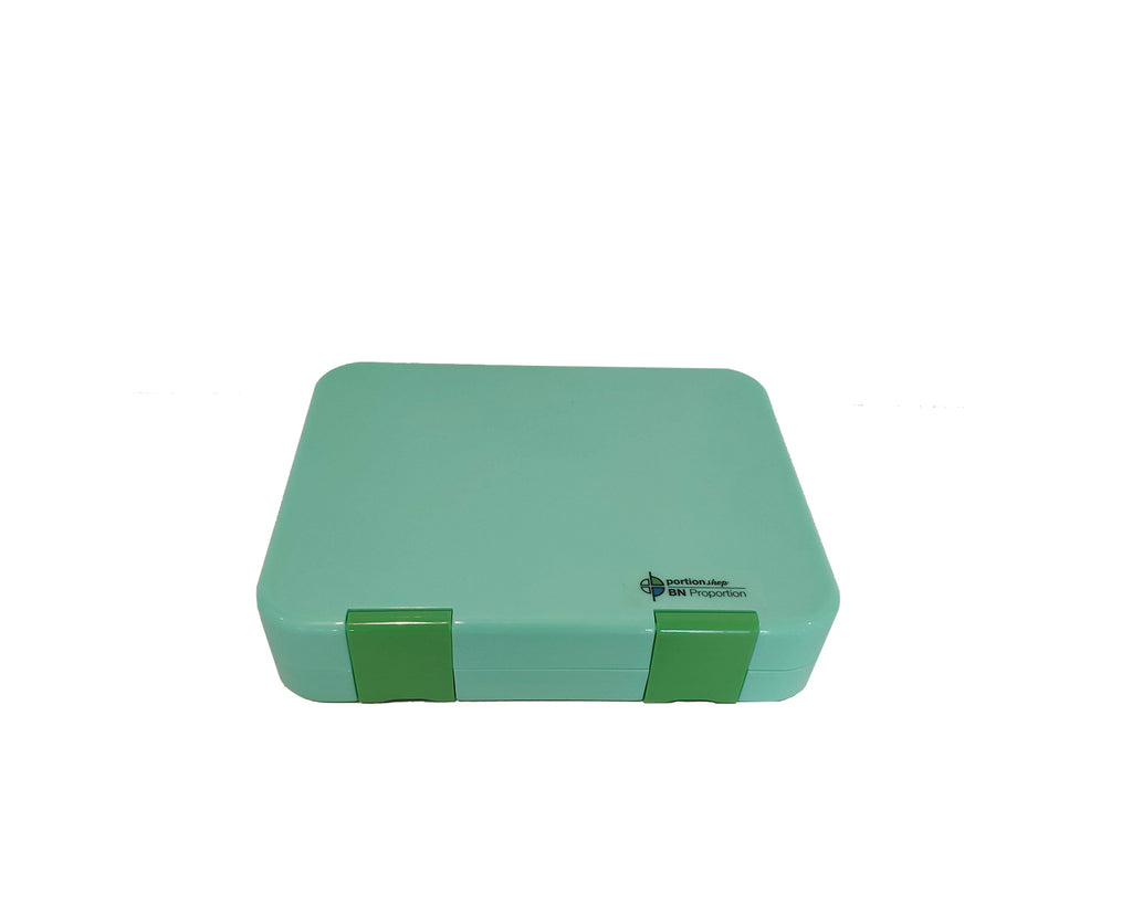 Green Portion Lunch Box Closed
