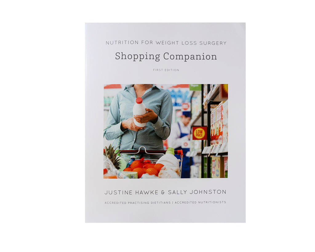 Weight Loss Surgery Shopping Companion Front Cover