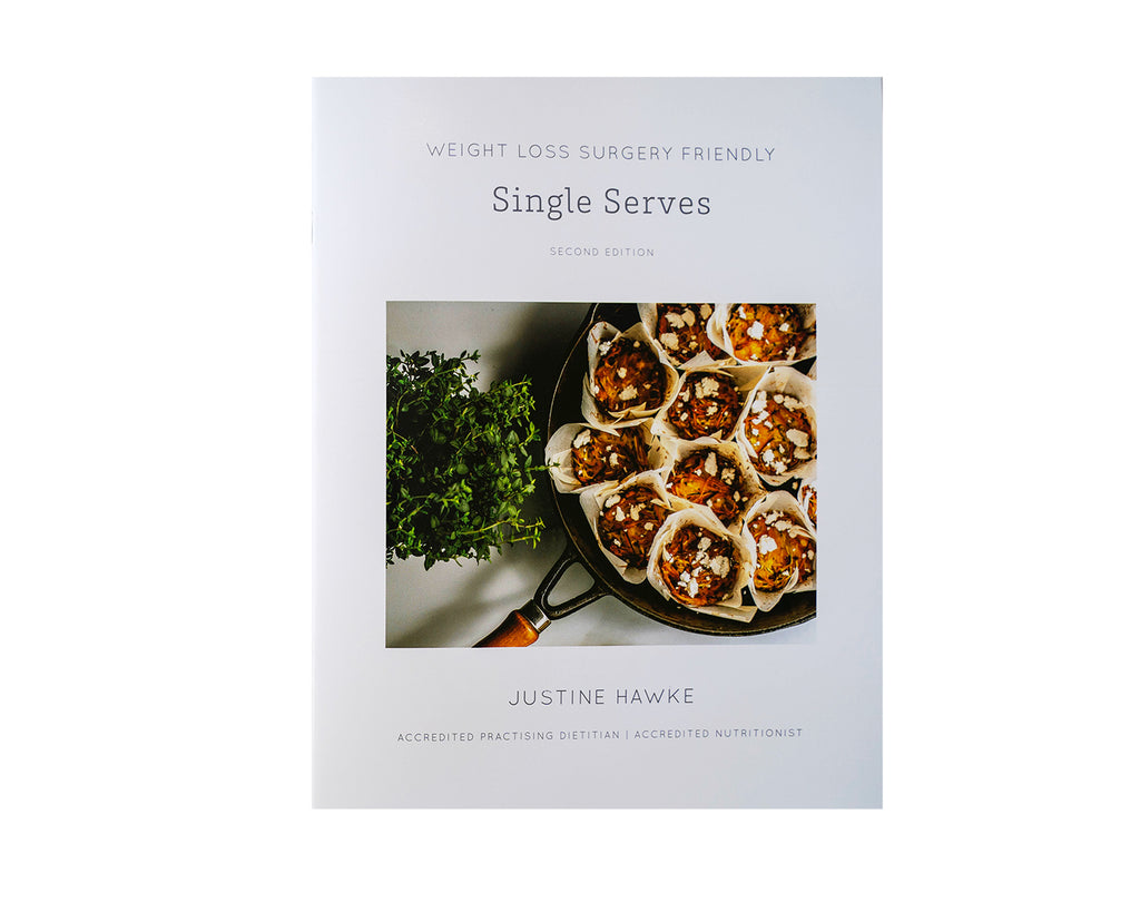 Single Serves Recipe Book Front Cover