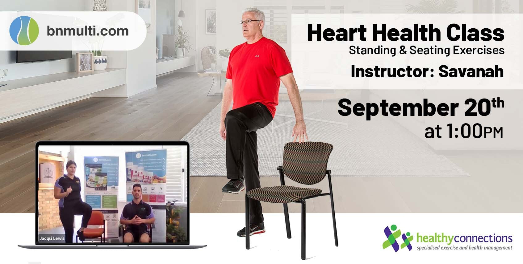 standing and seating exercises cardiovascular