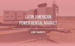 south america power rental market