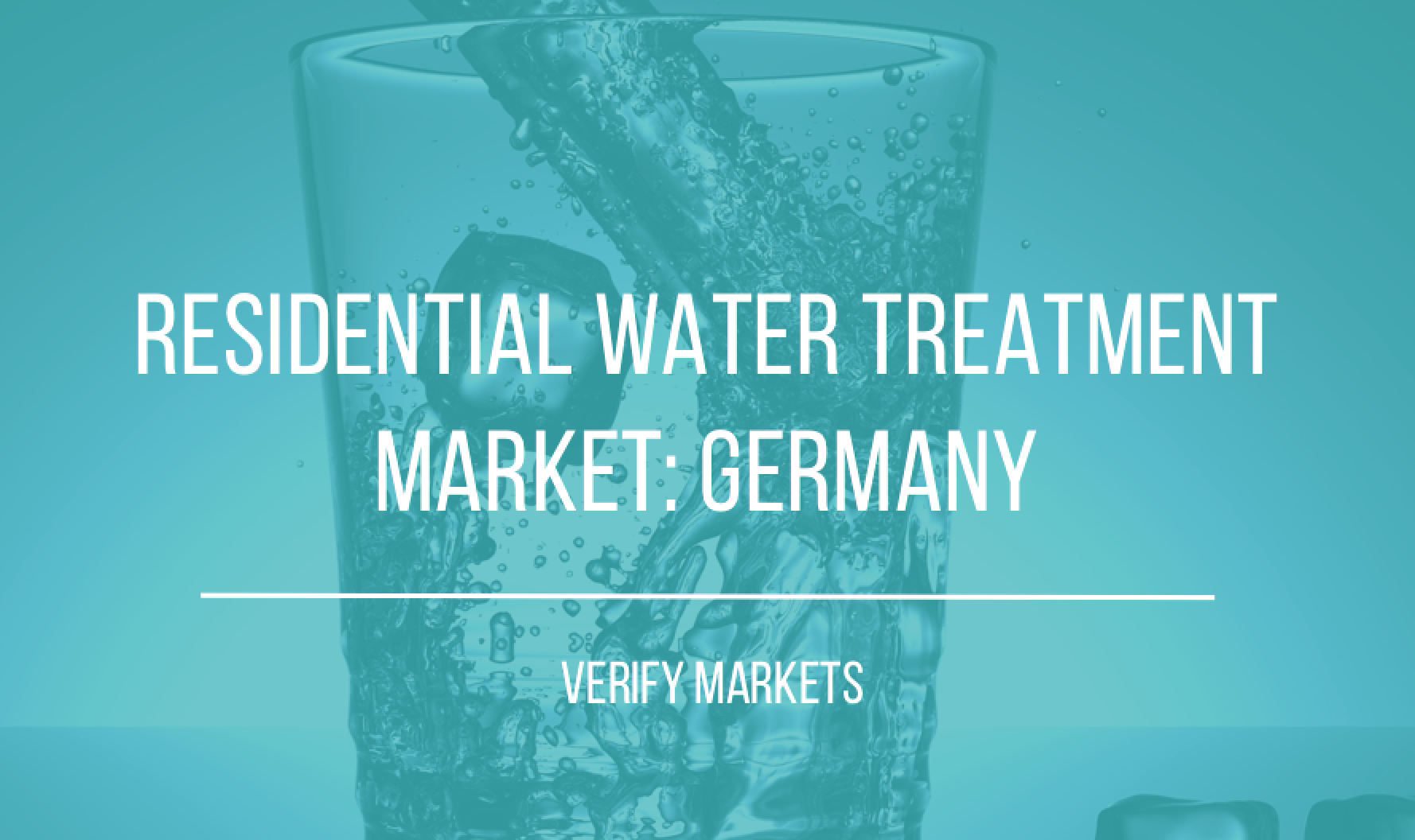 2017 RESIDENTIAL WATER TREATMENT MARKET: GERMANY