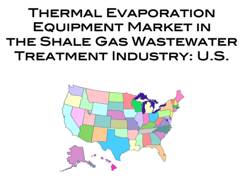 shale gas wastewater treatment thermal evaporation equipment market report united states