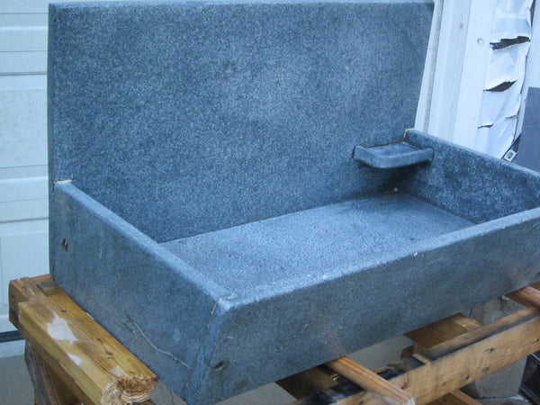 Antique 36 Slant Front Soapstone Sink New England Architectural Salvage