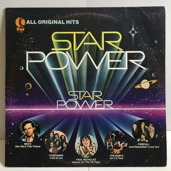 Star Power Compilation Vinyl LP 1978 K-TEL Records VG+/VG+ TU-2580