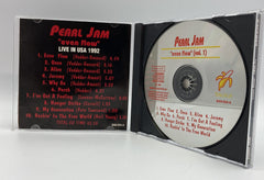 Pearl Jam Even Flow (Vol.1) Live In USA 1992 CD AUS Import