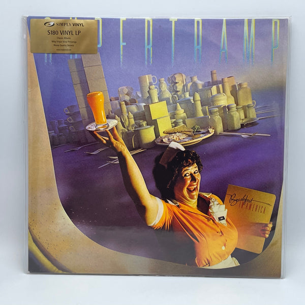 Supertramp ‎Breakfast In America 2000 UK 180g LP Simply Vinyl SVLP 184 New