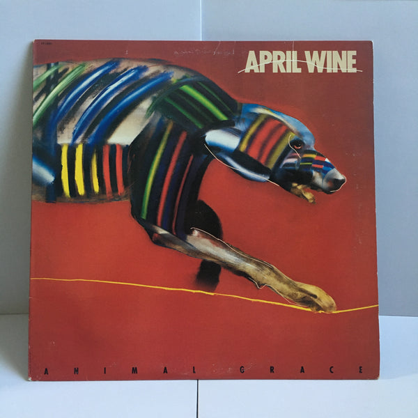 April Wine Animal Grace 1984 Original Hard Rock Vinyl LP VG+