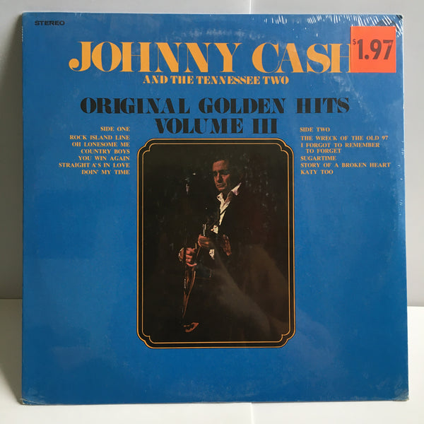 Johnny Cash And The Tennessee Two SEALED 1971 Original Vinyl LP