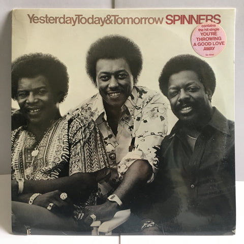Spinners Yesterday Today & Tomorrow SEALED Vinyl LP