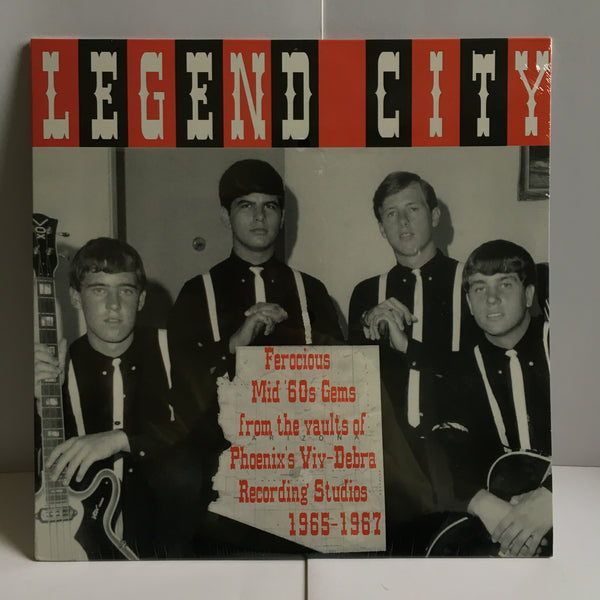 Legend City Mid 60s Garage Rock Compilation Vinyl LP SEALED New BA 1150