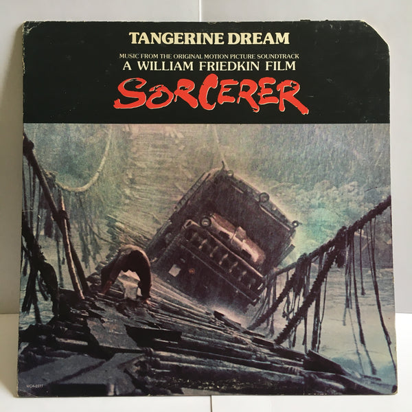 Sorcerer Soundtrack Tangerine Dream VG+/VG Vinyl LP MCA-2277