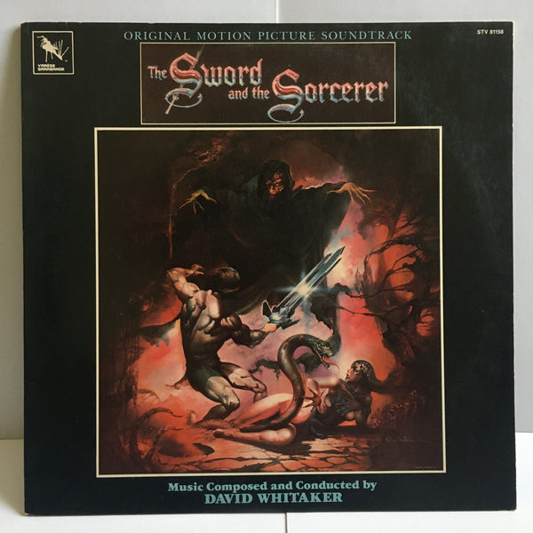 The Sword And The Sorcerer 1982 Soundtrack VG/VG+ STV 81158