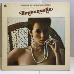 Emmanuelle Soundtrack 1975 Reissue Vinyl LP Lounge VG+/VG AL 4036 Arista Records