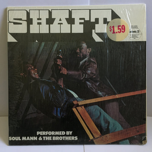 Shaft (Soul Mann & The Brothers) Vinyl LP VG+ in shrink Pickwick Records SPC-3290
