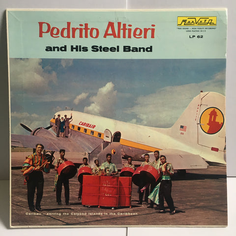 Pedrito Altieri and his Steel Band Vinyl LP Puerto Rico Import Reggae Calypso Latin LP 62