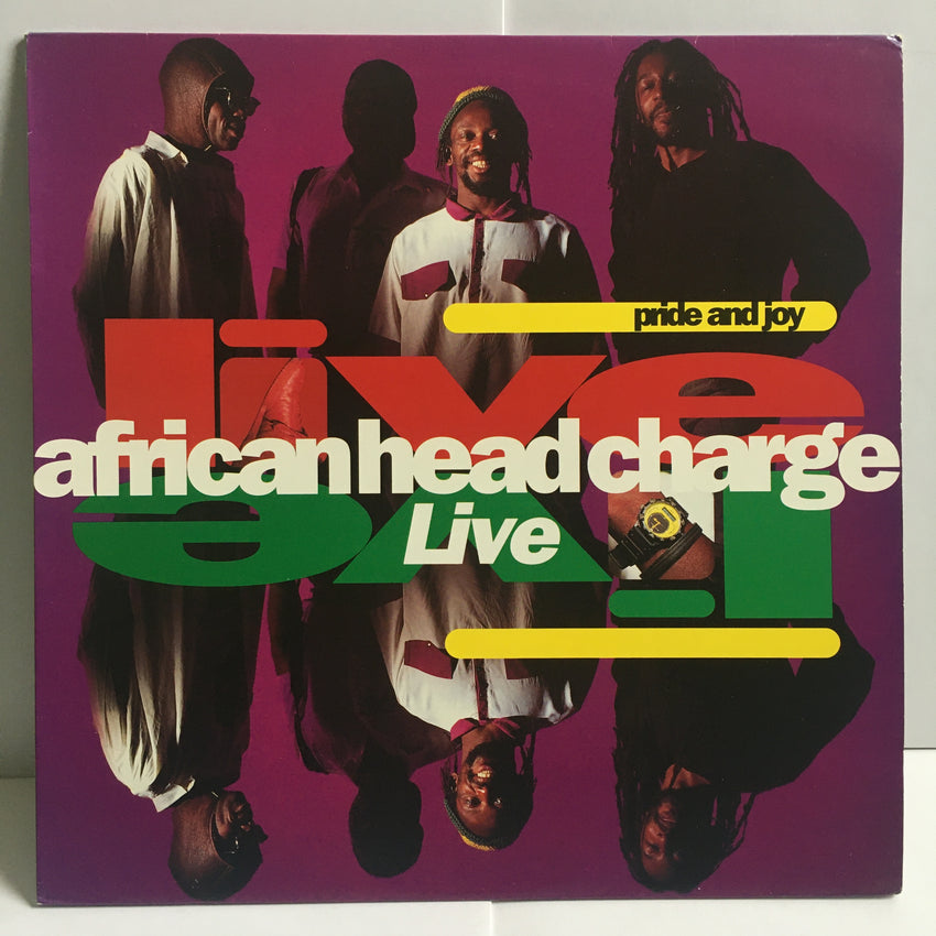 African Head Charge ‎Pride And Joy Live Near Mint Vinyl LP 1991 Dub Electronic On-U LP 58