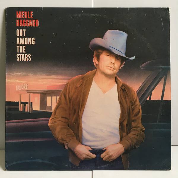 Merle Haggard Out Among The Stars Near Mint Vinyl LP 1986 CBS Records FE 40107
