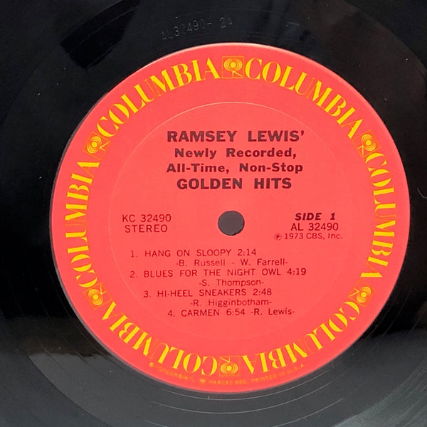 Ramsey Lewis ‎Golden Hits 1973 Jazz Vinyl LP Record in Shrink VG++