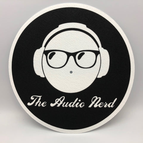 "The Audio Nerd Vinyl Record Player Turntable Custom Slipmat 12"" LP"