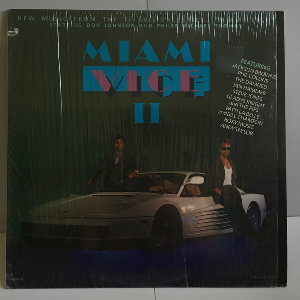 Miami Vice 2 1986 Vinyl LP Near Mint in shrink MCA-6192 MCA Records