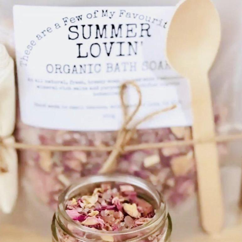 Summer Lovin' Organic Bath Soak