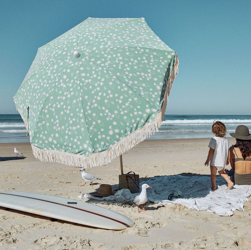 Ash Wood Pole Beach Umbrella