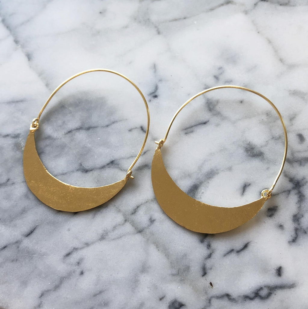 Alys Earrings Gold