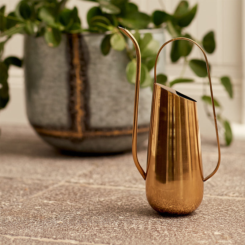 Lale Watering Can - Brass