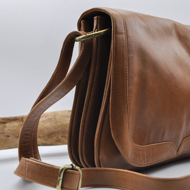 Minimalist Leather Backpack