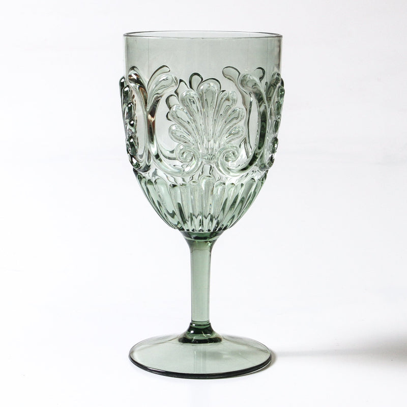 Flemington Acrylic Wine Glass (Green)