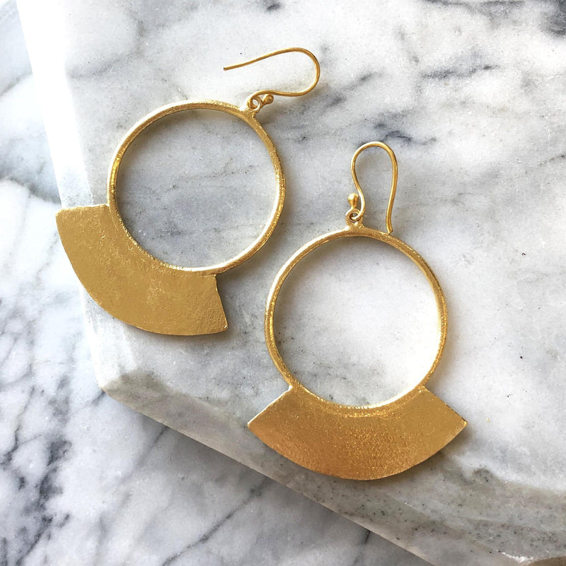 Nell Earrings Gold