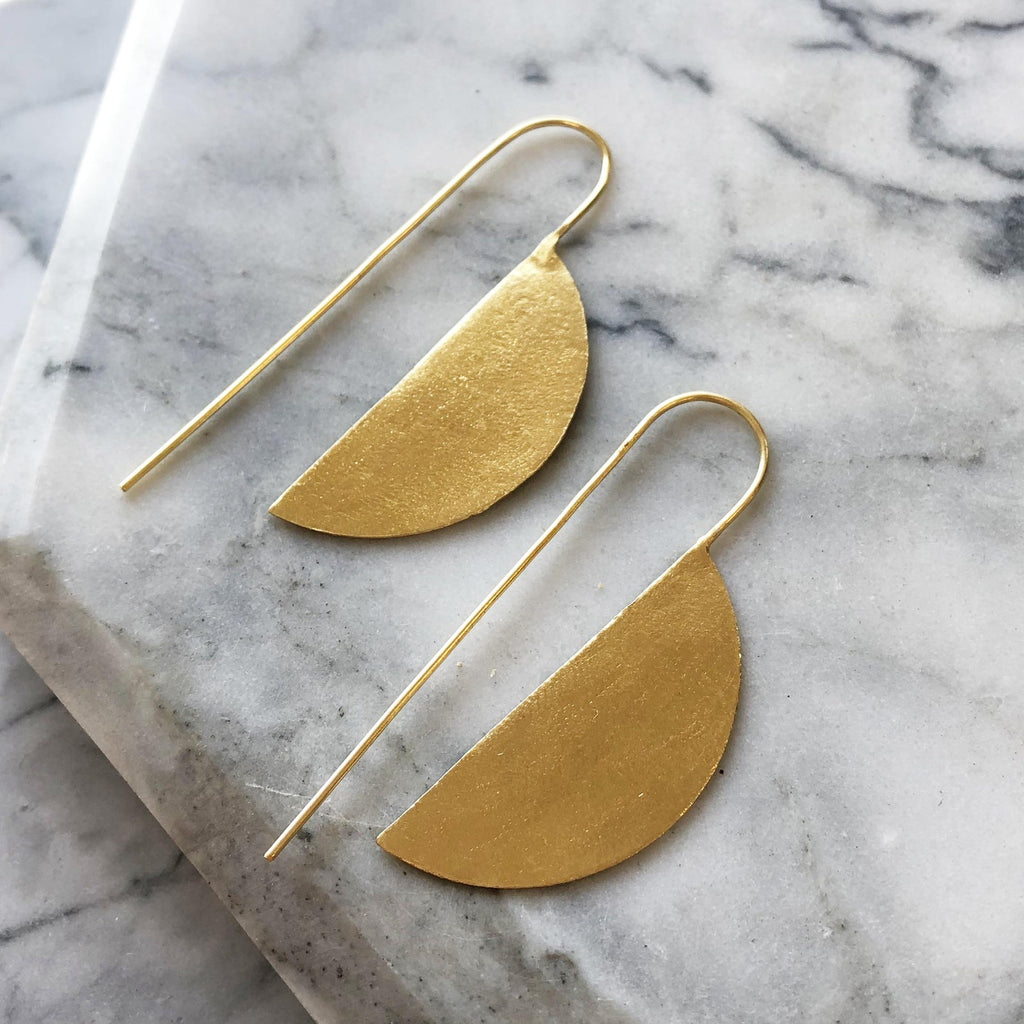 Folke Earrings Gold
