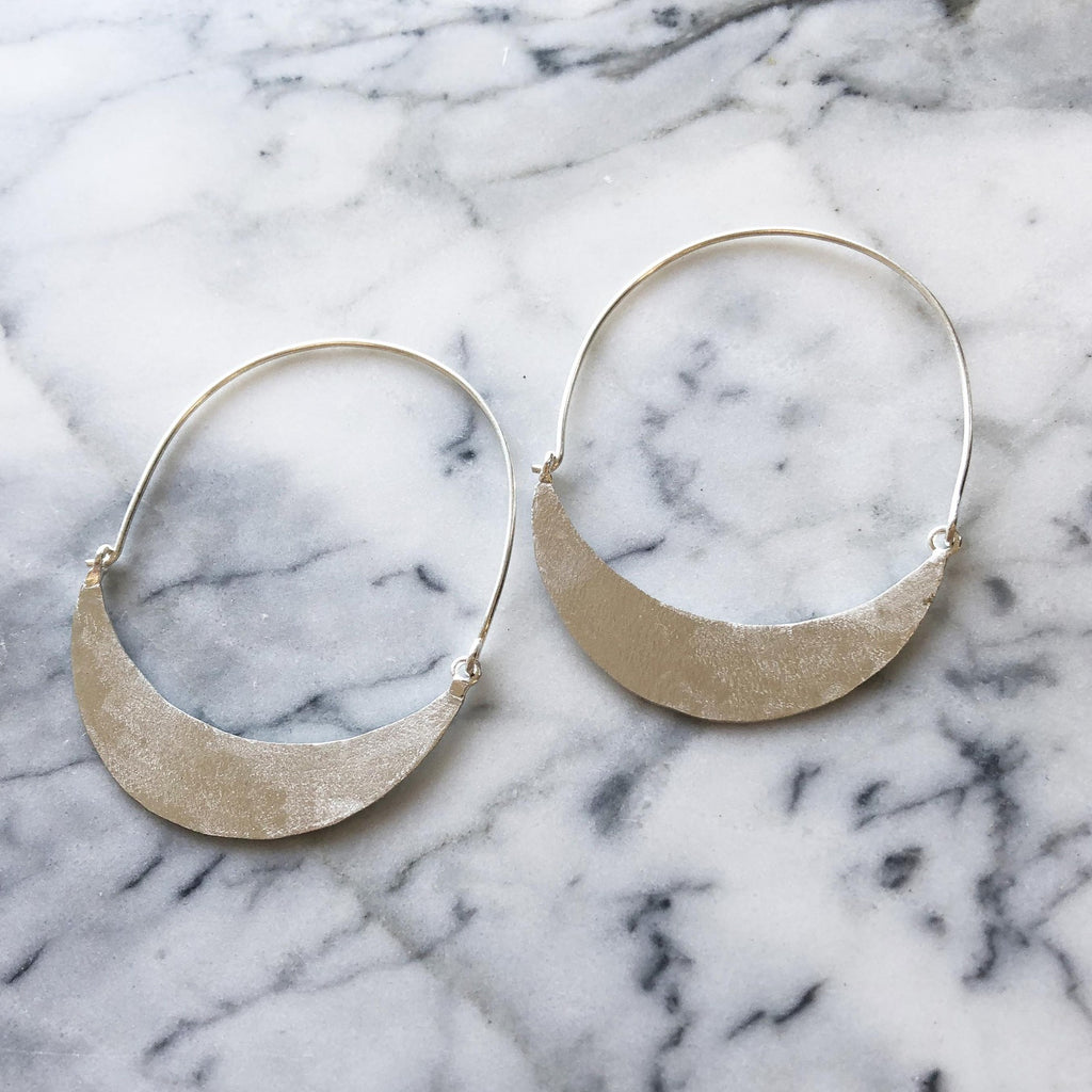 Alys Earrings Silver